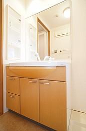 シャワー付独立洗面化粧台