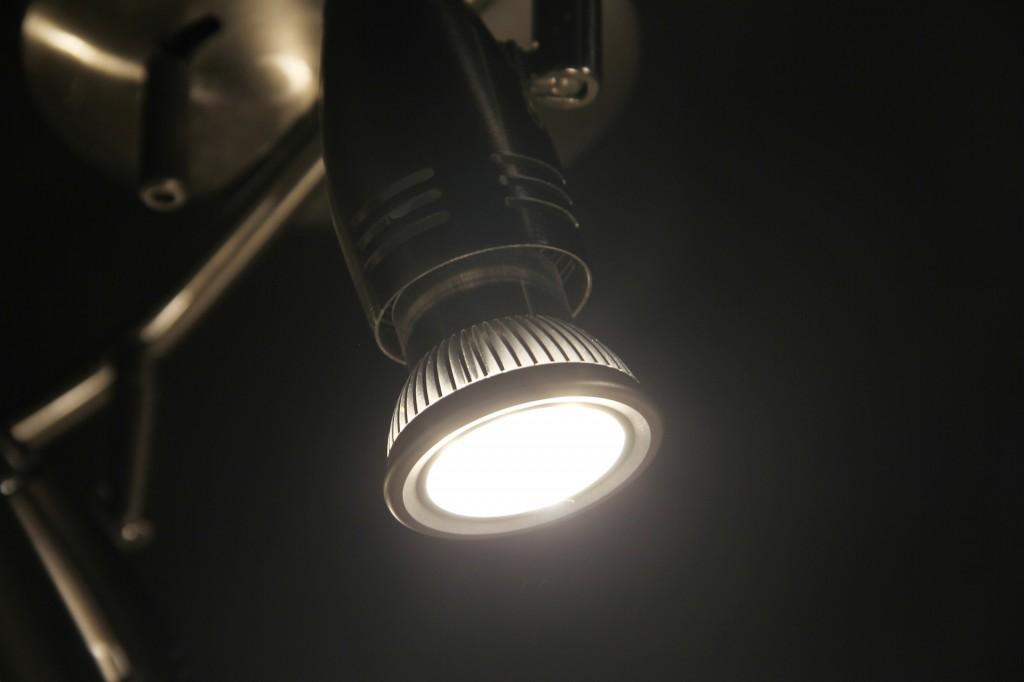 照明器具のヘッドライト!