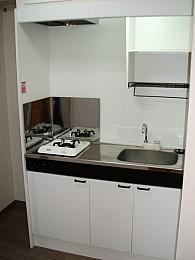 ◆キッチン◆ 1口ガスコンロ付です