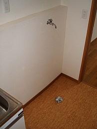 ◆洗濯機置場◆