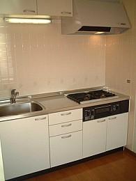 ◆キッチン◆ 3口コンログリル付システムキッチン