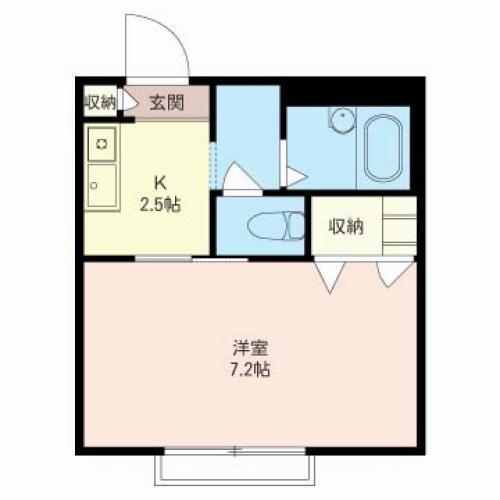 居室7帖以上・バストイレ別・室内洗濯機置場等、今現在のニーズに合ったプランです。
