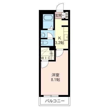 居室8帖以上で大型収納・独立洗面台など今のニーズに合ったプランになっています。