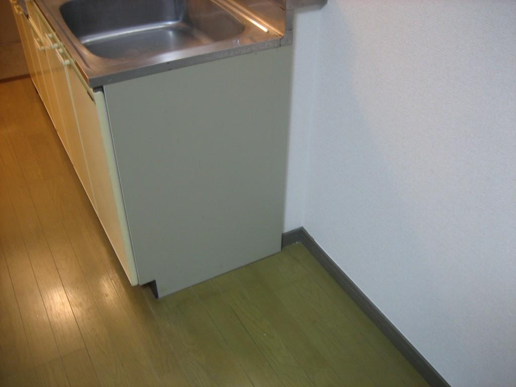 冷蔵庫置場です!