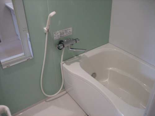 追焚付浴室内です!
