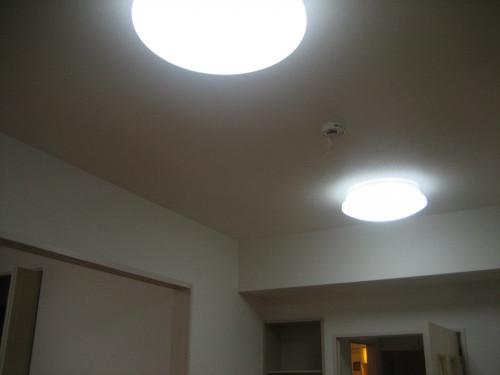 照明器具付室内です!!