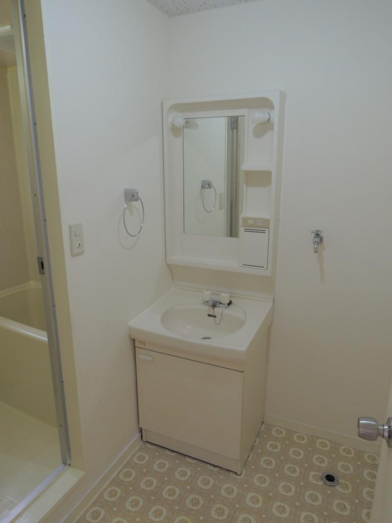 独立洗面室!