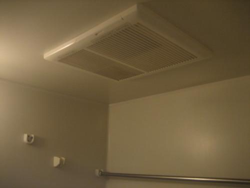 浴室乾燥機設置!