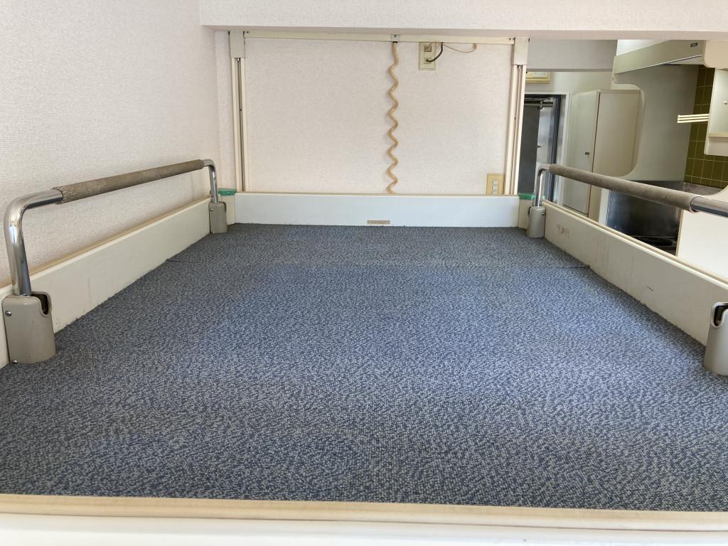 ベッドスペースです!