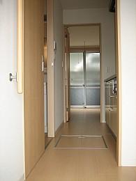 開放的な玄関口です!