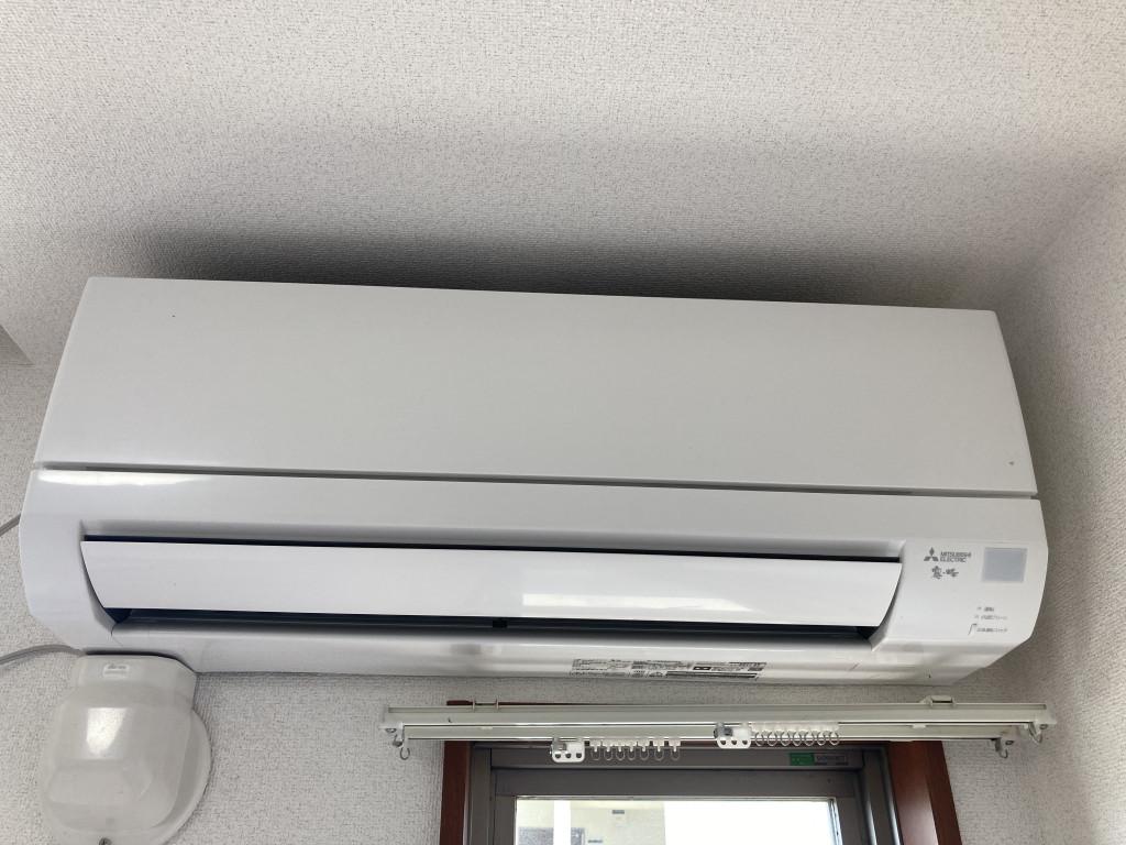 エアコン交換済み!