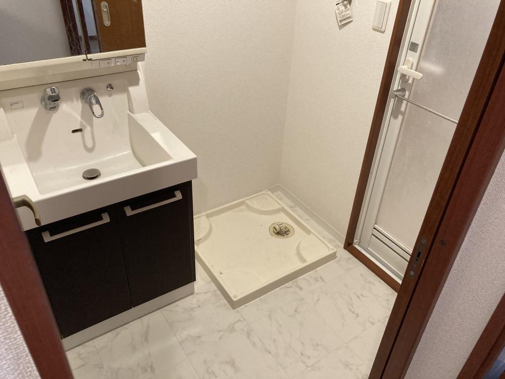 洗面室です!