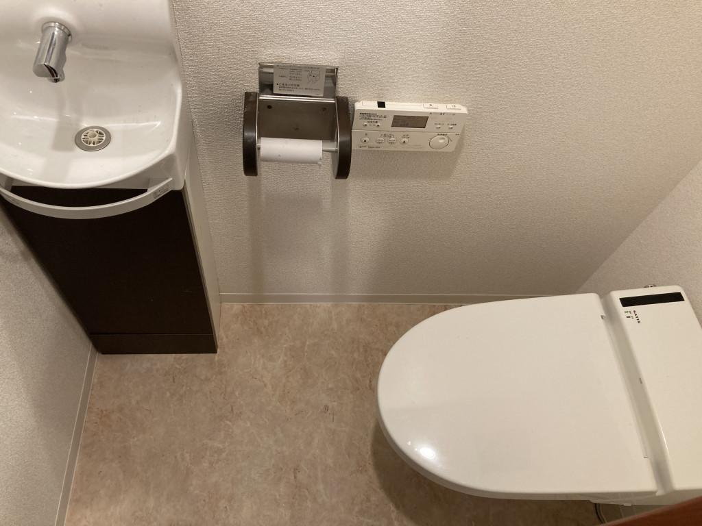 手洗い付トイレ内部です!