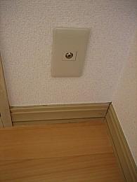 TVジャックも室内3箇所に設置!