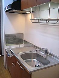 使い易いガスコンロ対応キッチン台です!