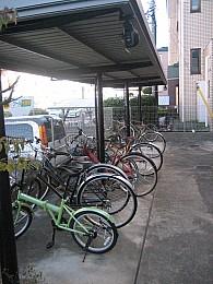 敷地内駐輪場があります!