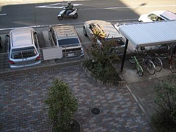敷地内に駐車場があります!