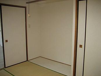和室の板敷きスペース!