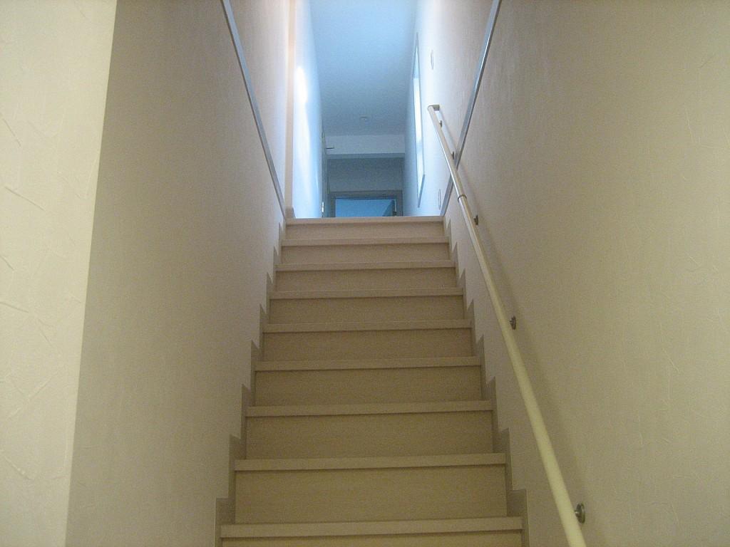 2階への廊下部分!