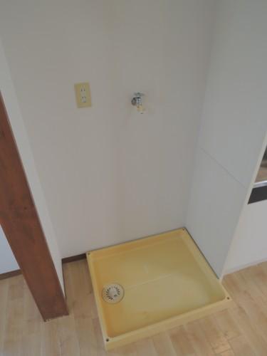 室内洗濯機置場!