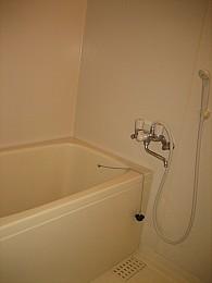 ゆったりした浴室内!