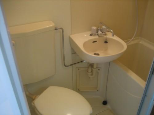 ゆったりした浴室内です。