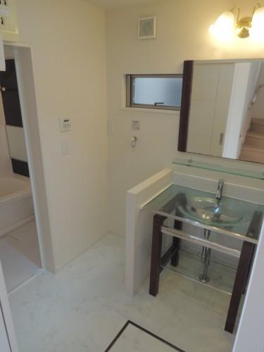 1階洗面室!