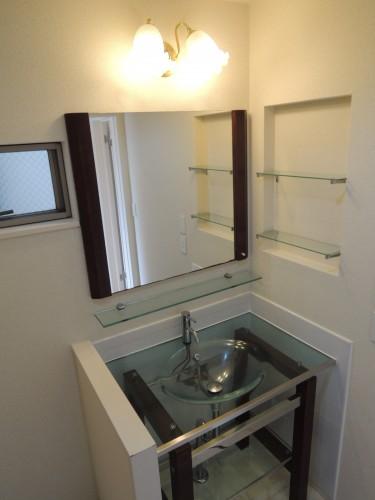 1階洗面化粧台!