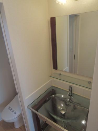 2階洗面化粧台!