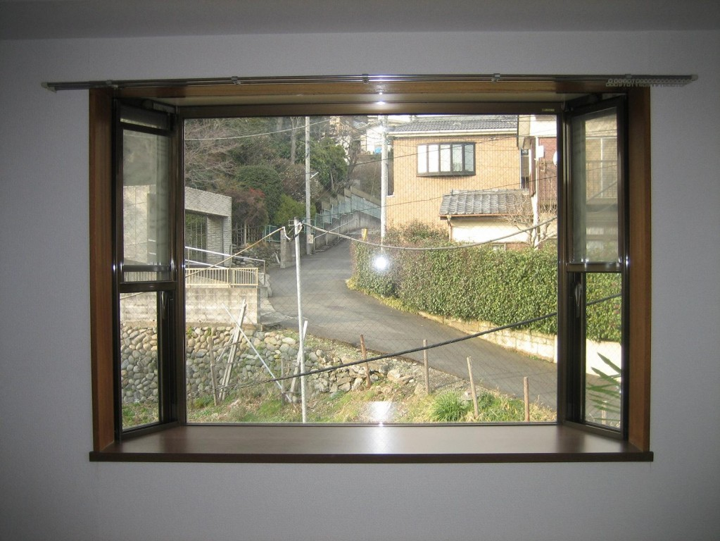 出窓があって開放感充実!