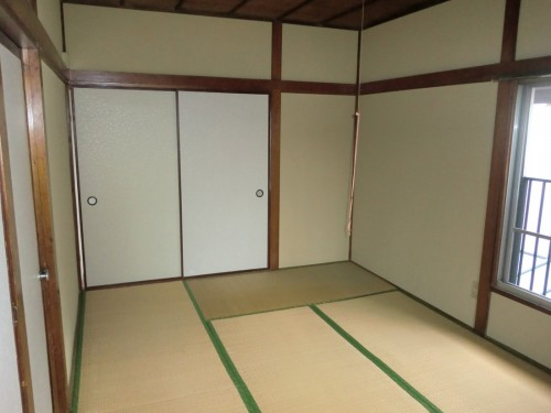2F和室(1)内装前