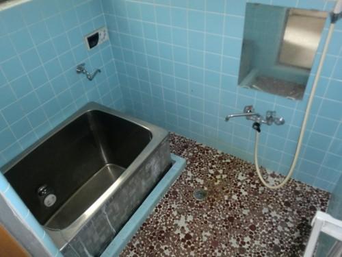 浴室 内装前