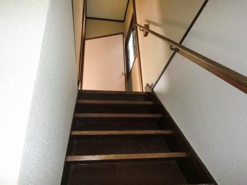 階段 内装前