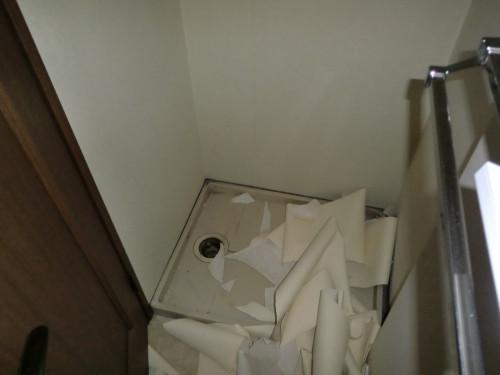 洗濯機置場 内装前