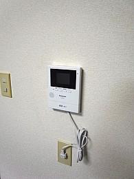 モニター付きインターフォン(平成28年9月新設)