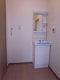 洗面所(新規設置)