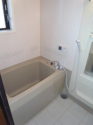追焚機能付き浴室