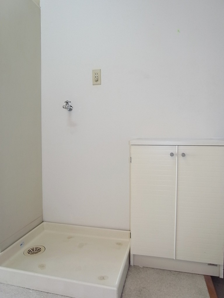 洗濯機置き場・シューズボックス