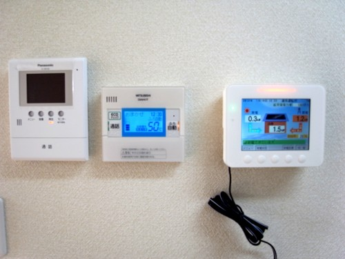 ソーラーパワーコンディション表示ユニット