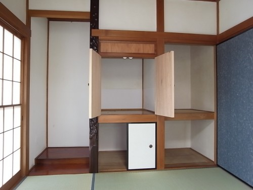 1階和室 収納・床の間
