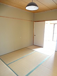 奥の和室です