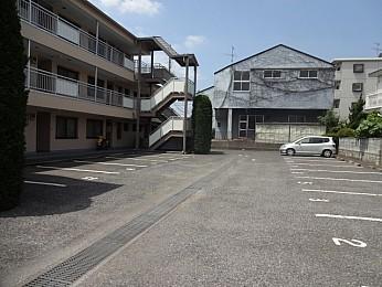 広々とした敷地内駐車場