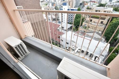 10階バルコニー