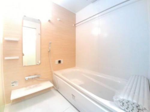 浴室乾燥 機、温水洗浄便座、追い焚き付の1坪風呂。