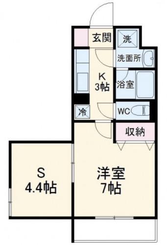 橋本駅徒歩圏駅近好立地単身用限定バストイレ別1SKマンション物件情報(有)リビングホーム