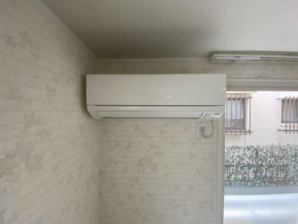 大型エアコン付きで快適な暮らしをサポート