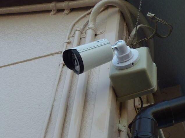 防犯カメラ完備!安心な暮らしにお役立ち