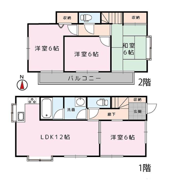 使いやすい4LDKの分譲戸建て住宅
