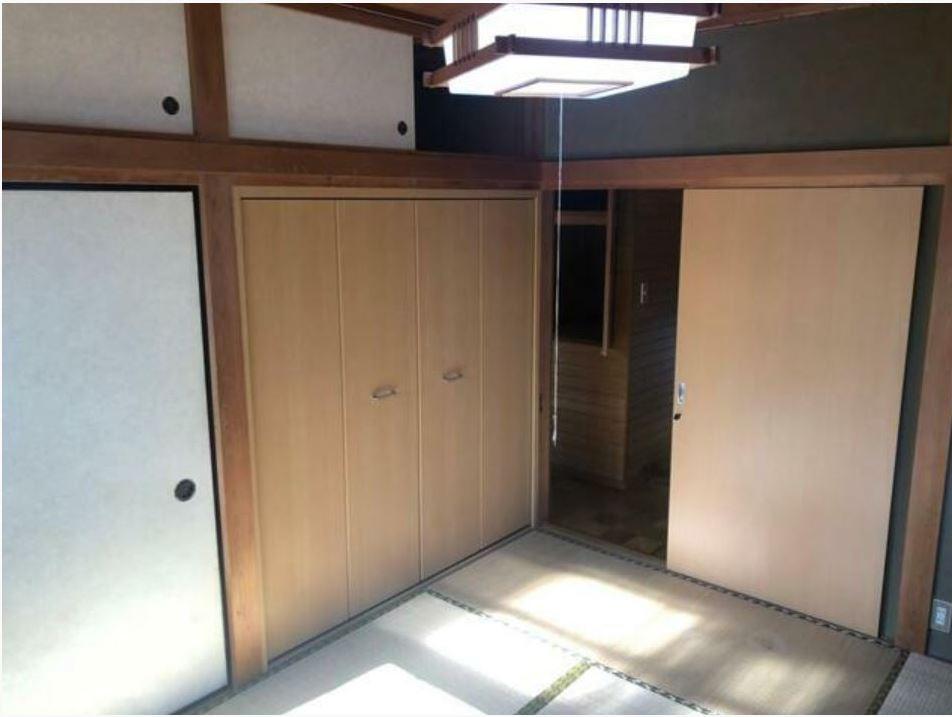 2階和室6畳・大型収納