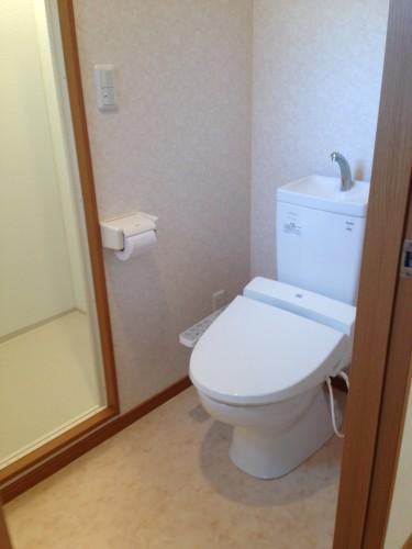相模原市城山分譲賃貸注文建築大型貸家物件情報リゾネット城山 室内画像 2階トイレ